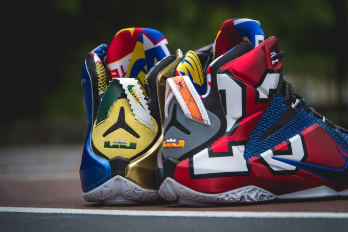 """The """"What The"""" Nike LeBron 12 Makes Its Debut Tomorrow"""