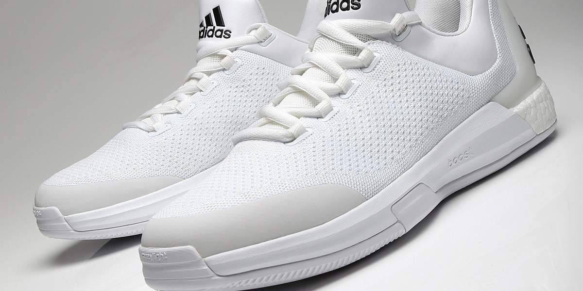 JAMES HARDEN'S ALL-WHITE ADIDAS CRAZY LIGHT BOOST PE