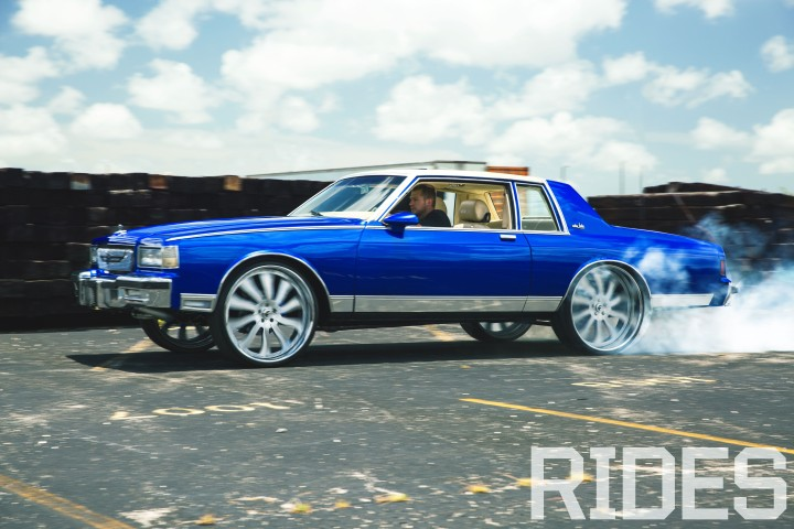 1987 Chevrolet Caprice Landau | Boosted Blue