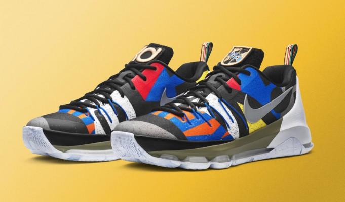 "The Nike KD 8 ""All-Star"" Inspired by Flags Throughout Toronto"