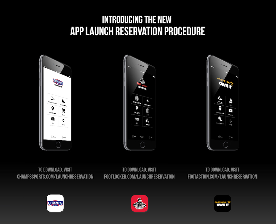 Foot Locker, Footaction & Champs Launch New Apps
