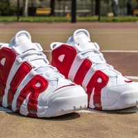 "Release Reminder: Nike Air More Uptempo ""Gym Red"""