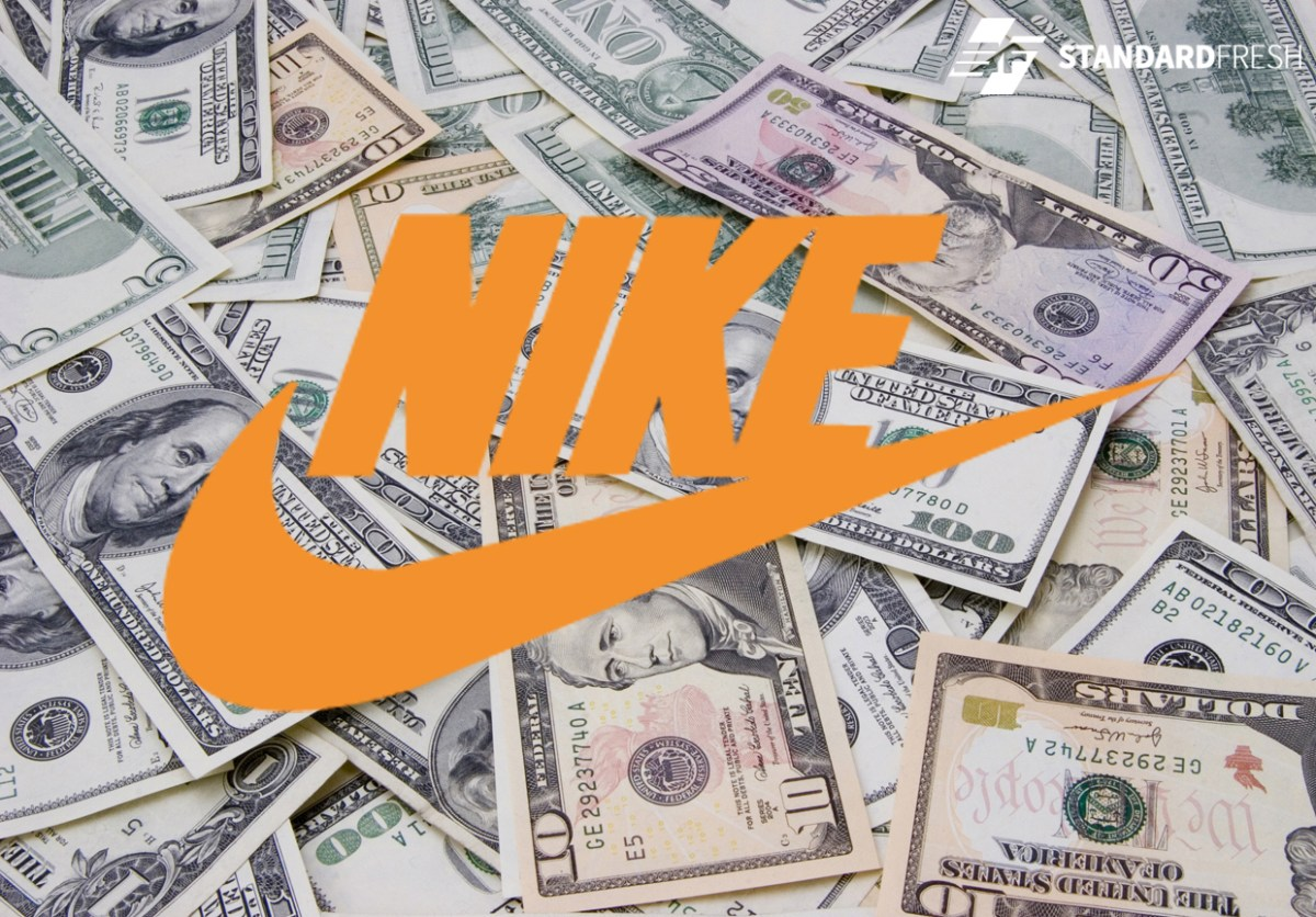 Nike Earns This Much Every Second