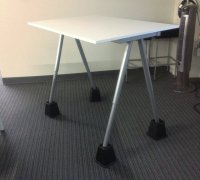 Code Fellowss DIY IKEA Standing Desk with Bed Risers ...