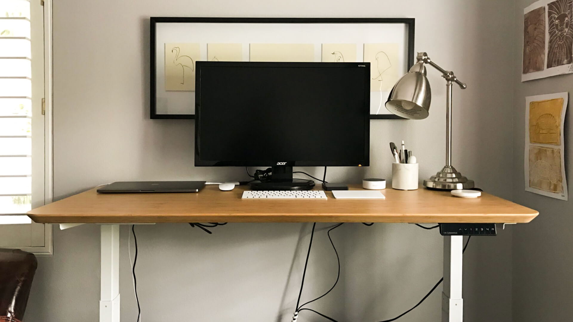 Diy Desktop Standing Desk Discover The Simplest Low Cost Standing Desks Diy Plans