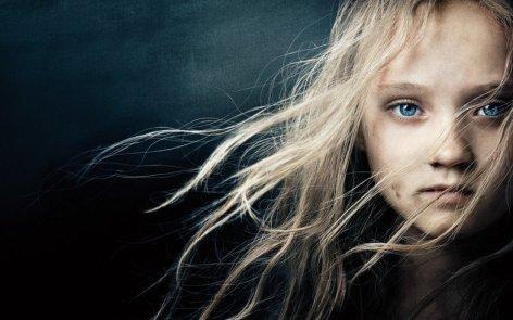 Cosette from Les Miserablés 2012 film