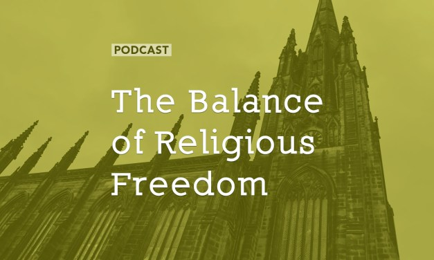 The Balance of Religious Freedom
