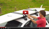 How To Lock Your Standup Paddleboard To The Roof Rack ...