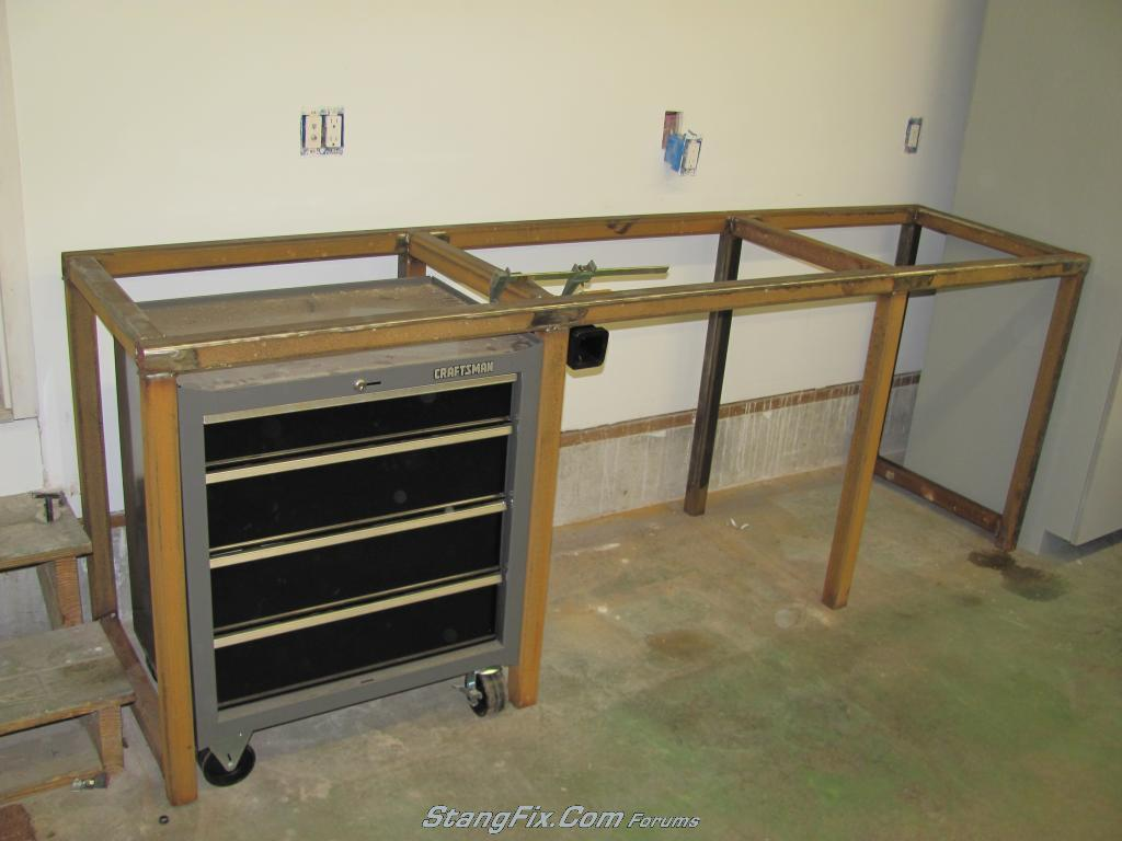 My Steel Workbench Build The Garage Journal Board