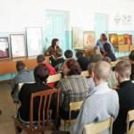 Выставка-беседа<br />Выставка-беседа в доме-интернате, г. Банаул, 2009 г.