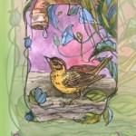 Сказки старого сада<br />Иллюстрация выполнена для Олега Гармса. 2008г.