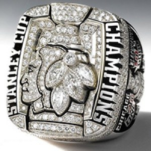 2010 - Chicago Blackhawks Stanley Cup Ring - Main