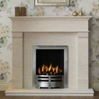 Gallery Derwent Portuguese Limestone Fireplace ...
