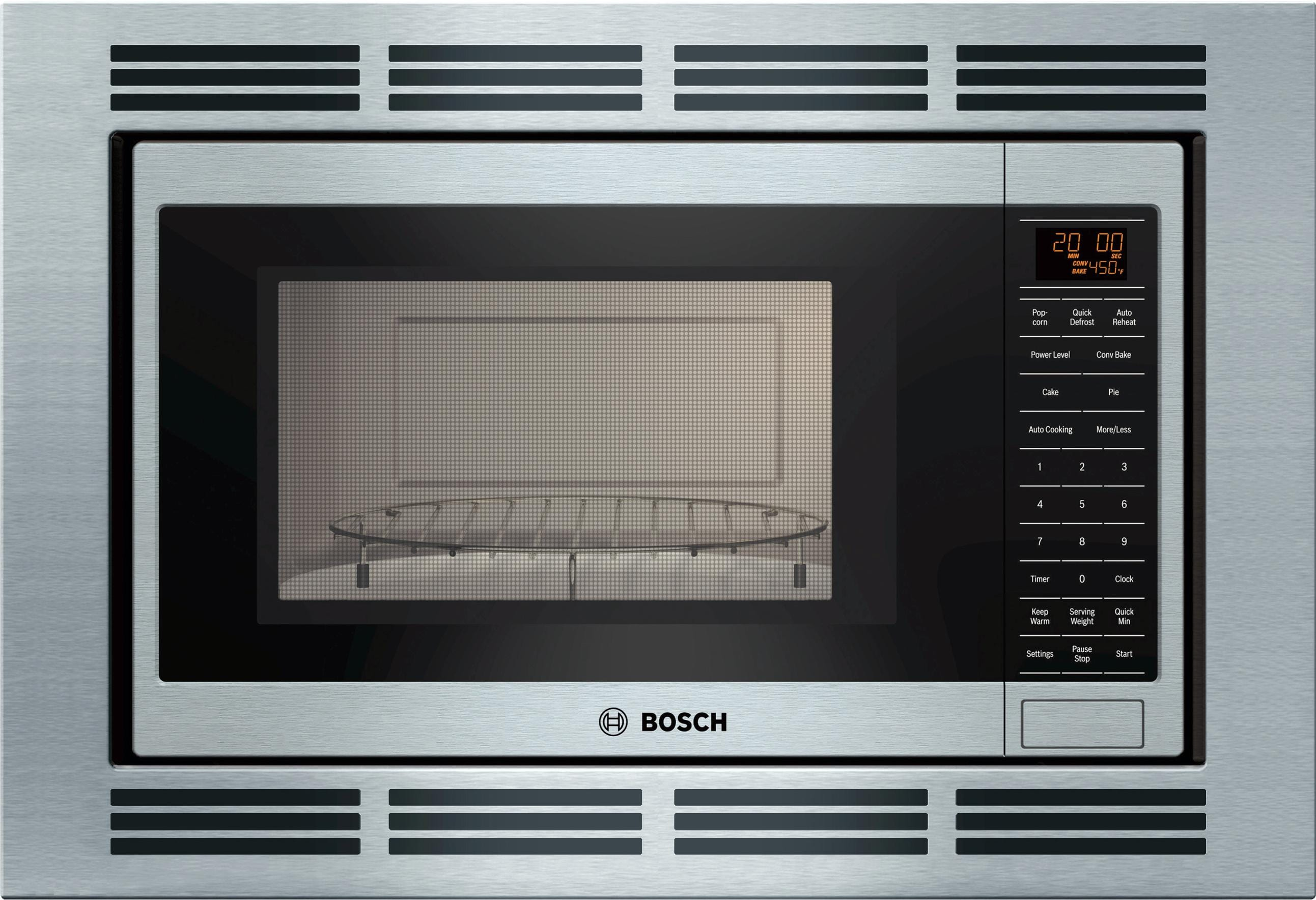 Bosch Microwave Built In Convection Microwave 800 Series Stainless Steel
