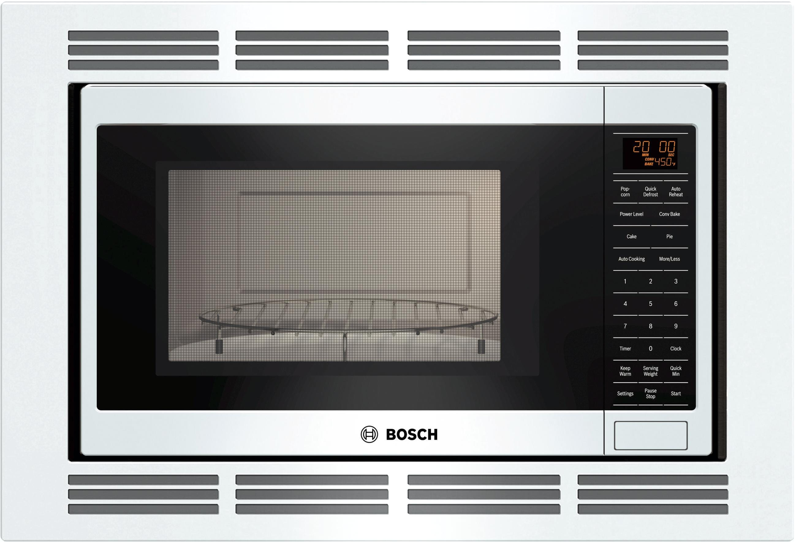 Bosch Microwave Built In Convection Microwave 800 Series White