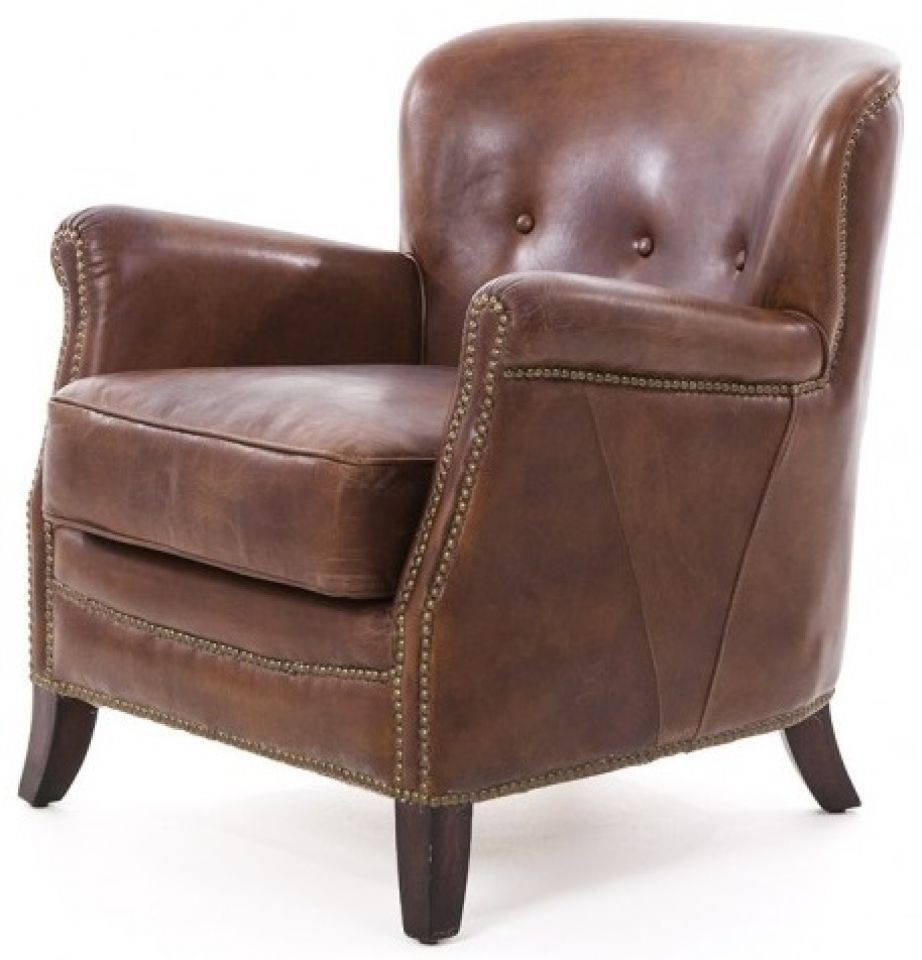 Canape Club Cuir Marron Fauteuil Club Cuir Marron Cigare Hemingway