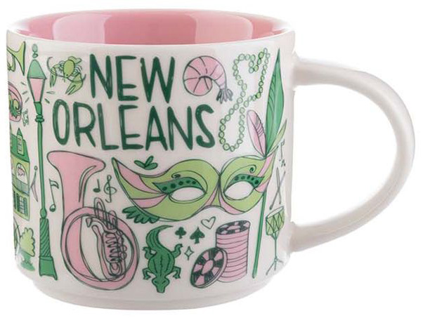 Been There New Orleans Starbucks Mugs