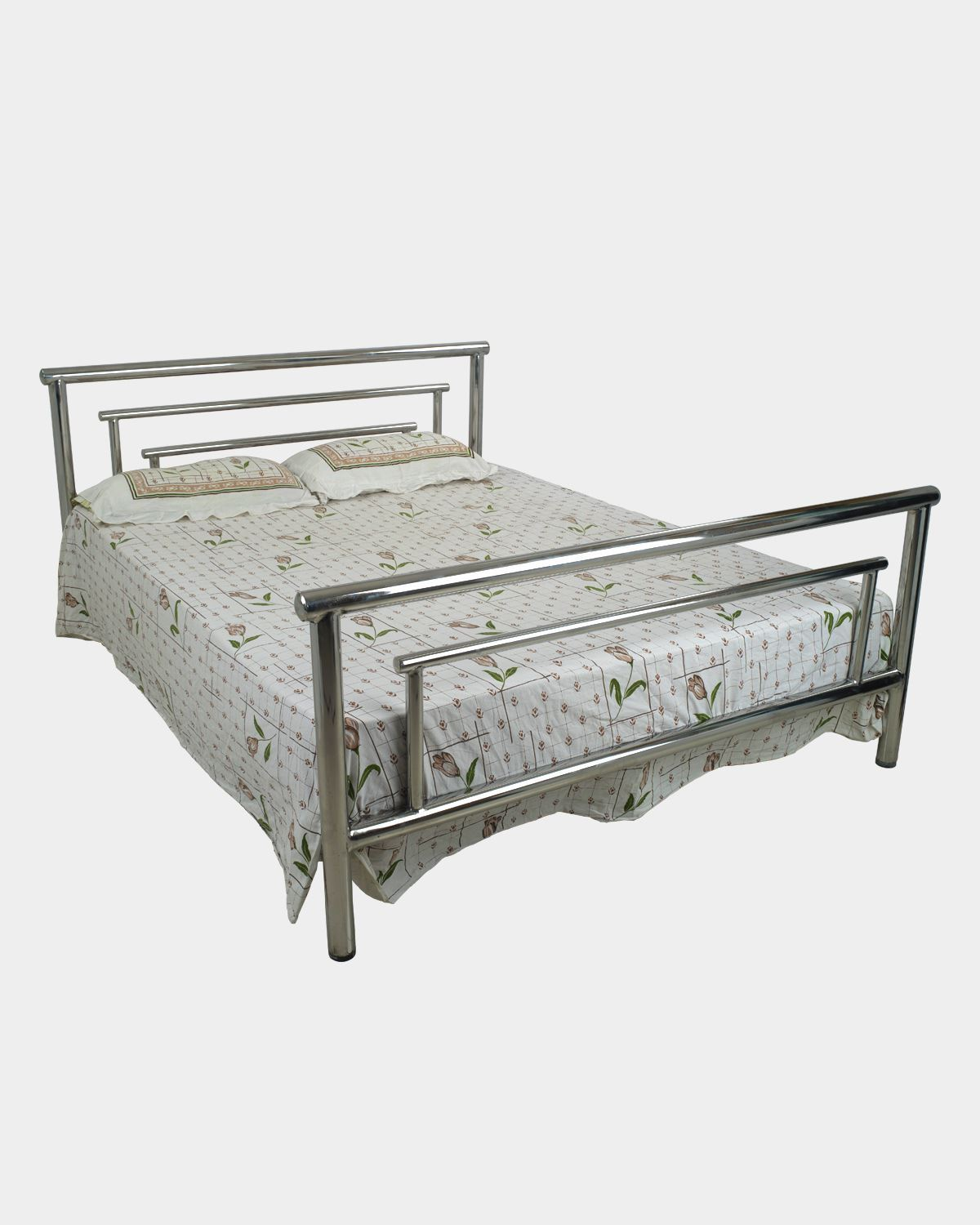 Double Size Bed King Size Double Bed Stainless Steel
