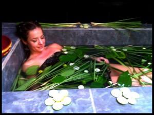 Herbal Bath in motion