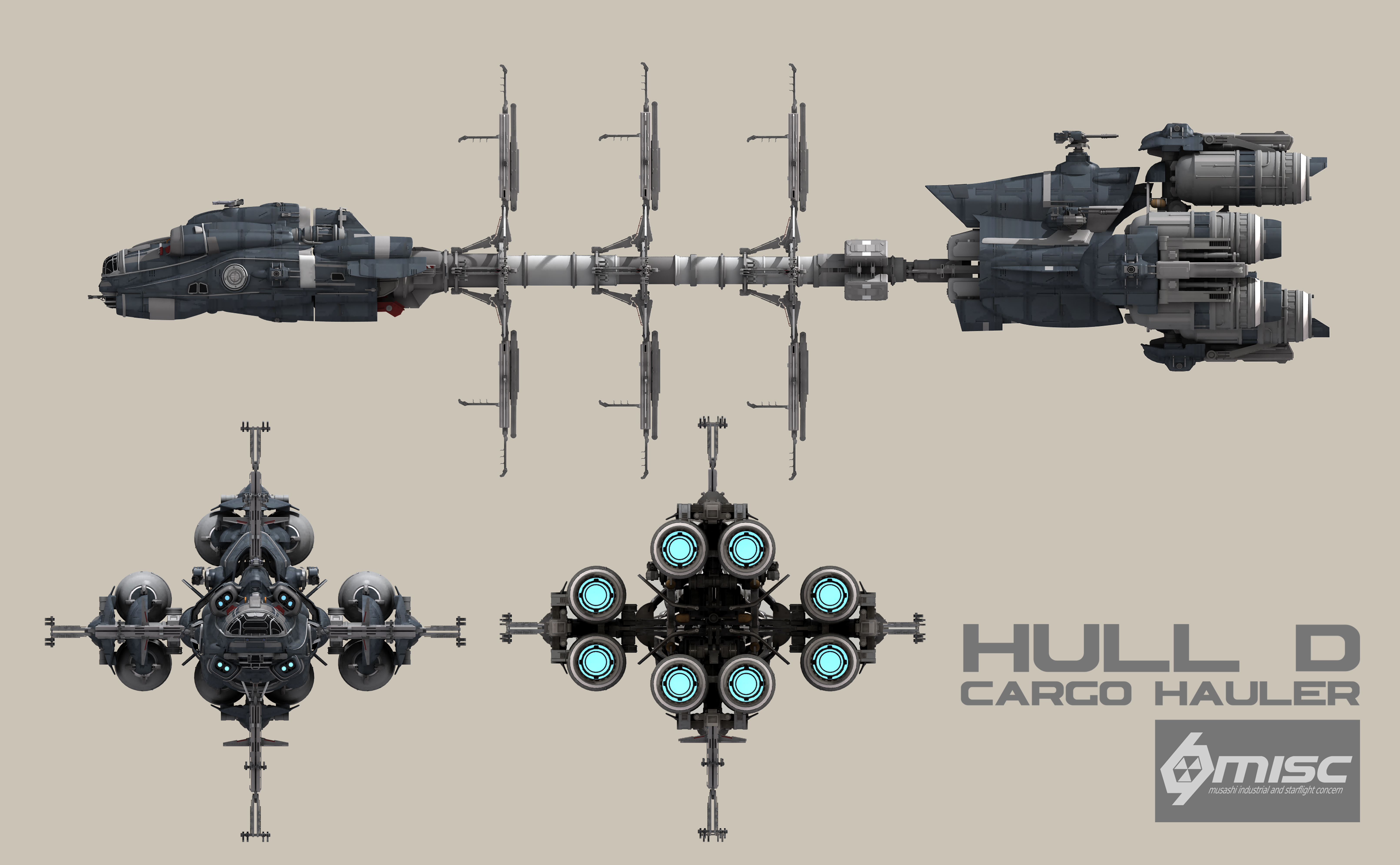 Production Factory Manufacturer Hull D Star Citizen Wiki