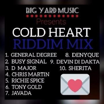 Cold Heart Riddim DEC 2015 – DJ AZISH