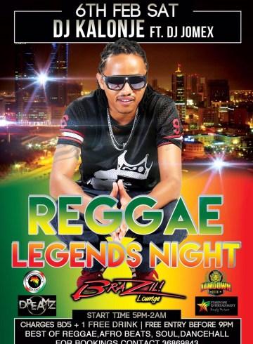 Reggae Legend's Night