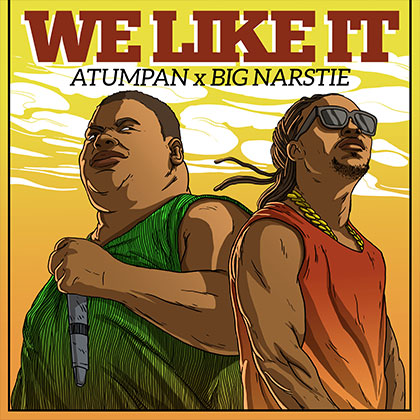 "Atumpan ft. Big Narstie ""We Like It"" Official Music Video"