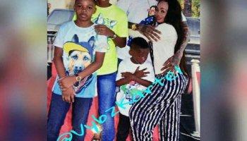 Photos Of Vybz Kartels Family Visit In Jail