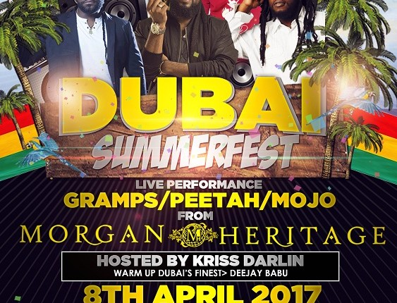 Buy Morgan Heritage Dubai Summer Fest Tickets