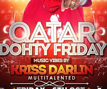 6th October Friday Reggae and Dancehall Night With Kriss Darlin!!