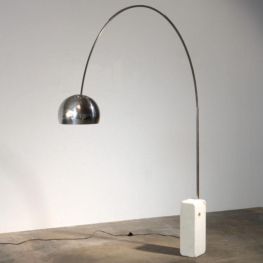 Lampe Arco Flos Arco Original Arc Floor Lamp