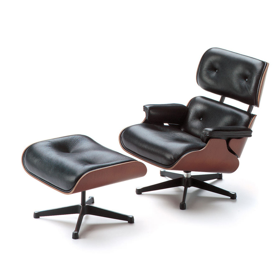 Vitra Eames Lounge Chair Vitra Miniature 5 5 Inch Eames Lounge Chair And Ottoman