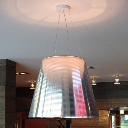 "Philippe Starck Flos Ktribe S3 - 21.6""dia Large Starck Suspension Light"