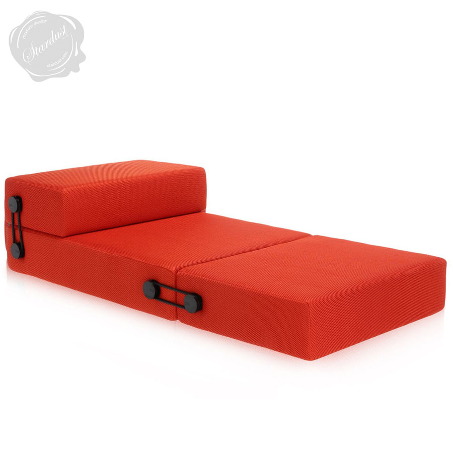 Kartell Sofa Kartell Trix Modern Pull Out Futon Sofa Sleeper By Piero Lissoni