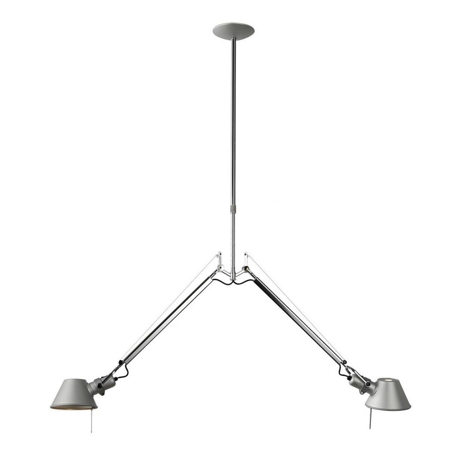 Artemide Suspension Artemide Tolomeo Double Suspension Light