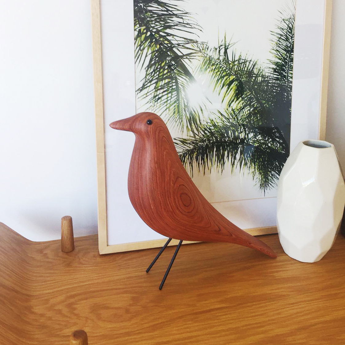 Eames House Bird Eames House Bird In Walnut Wood By Vitra