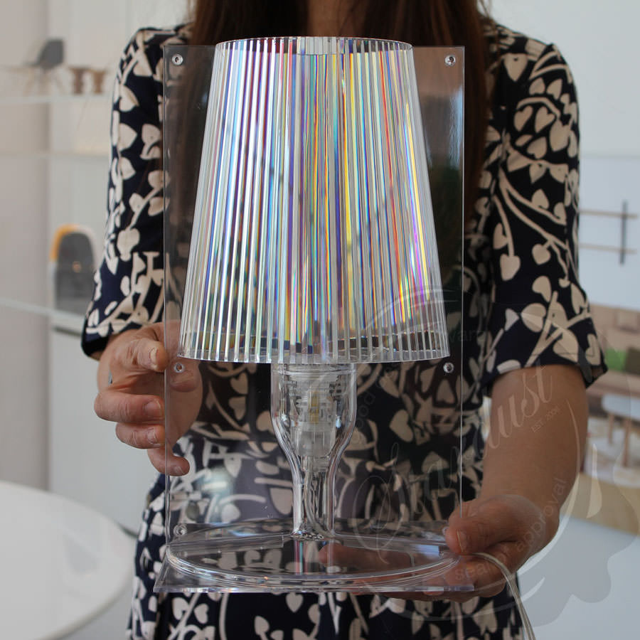 Lamp Kartell Kartell Crystal Take Table Lamp By Ferruccio Laviani