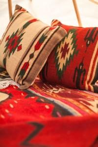 Navajo rug pillows - Stardust