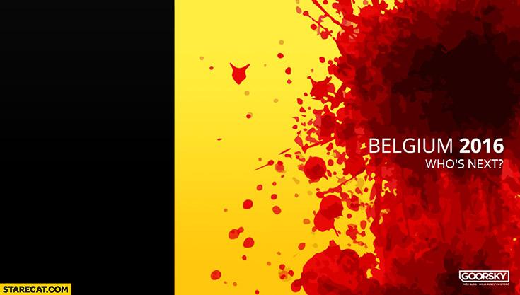 Animated Cute Skull Wallpaper Belgium 2016 Terrorist Attacks Belgian Flag In Blood Who S