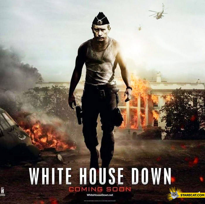 Cute Silly Wallpapers White House Down Putin Starecat Com