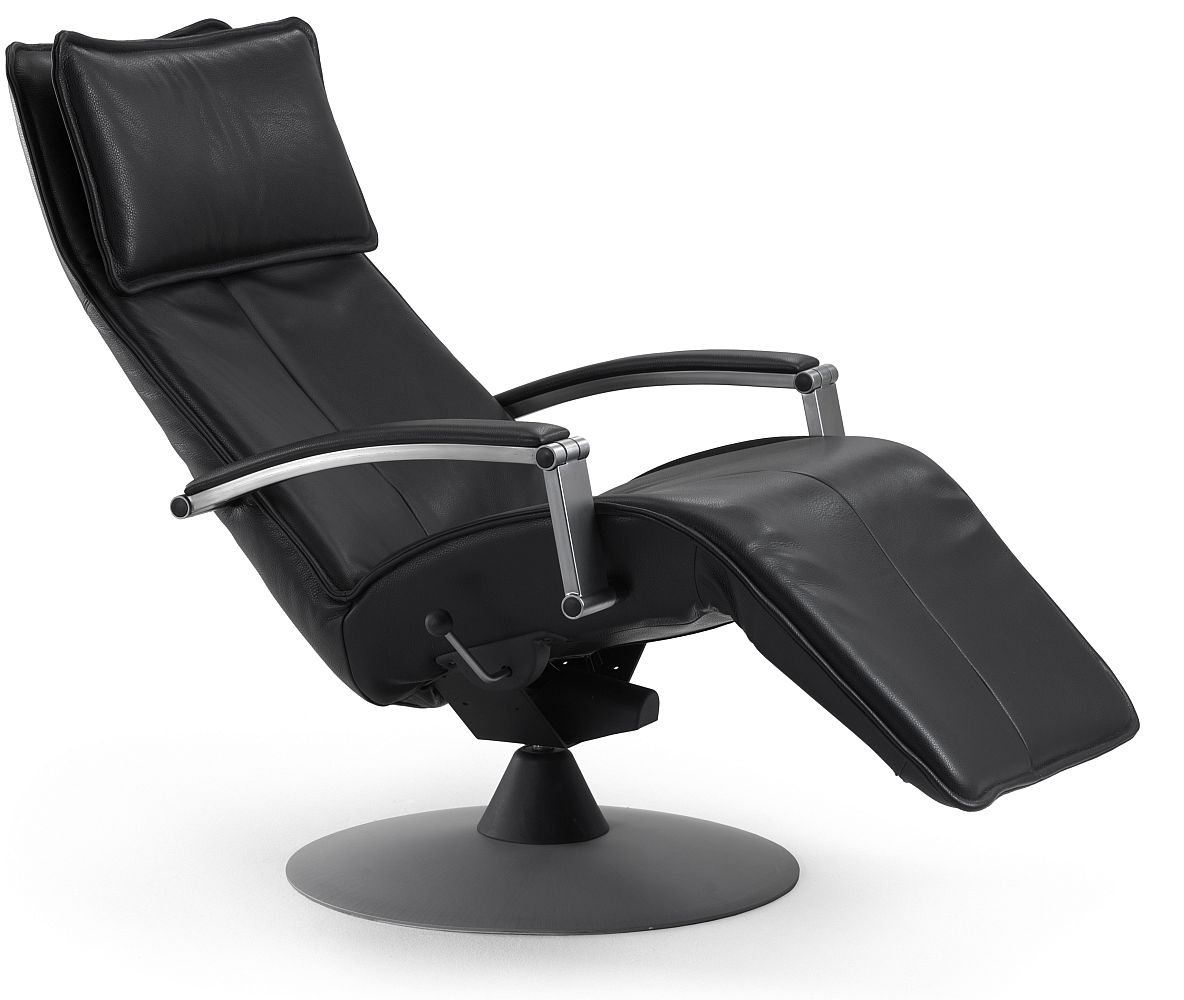 Relaxsessel Leder Sale Convita In Black Leather Stargate Cinema