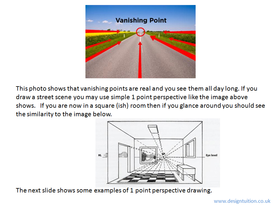 Sketching and rendering 2-point perspective PowerPoint - DT Association