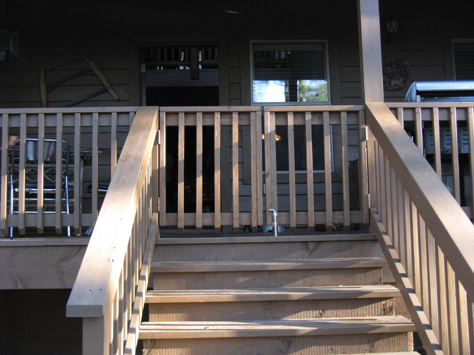 Front Porch Railing Porch Gates Available | The Starlight Ridge Townhouses