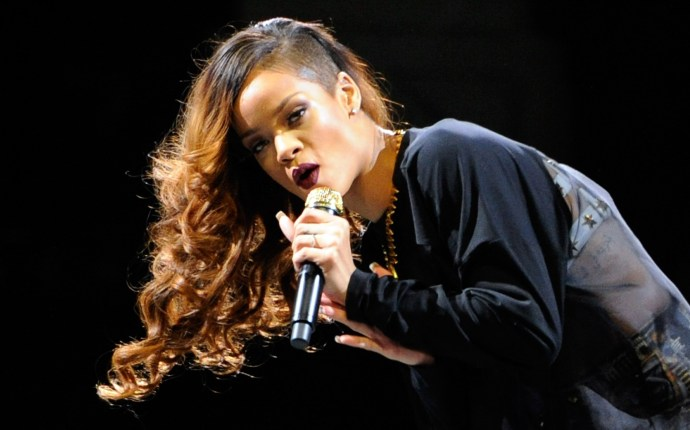 Rihanna And A$AP Rocky In Concert At The Mandalay Bay Events Center