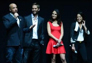 Vin Diesel, Paul Walker, Jordana Brewster & Michelle Roridguez
