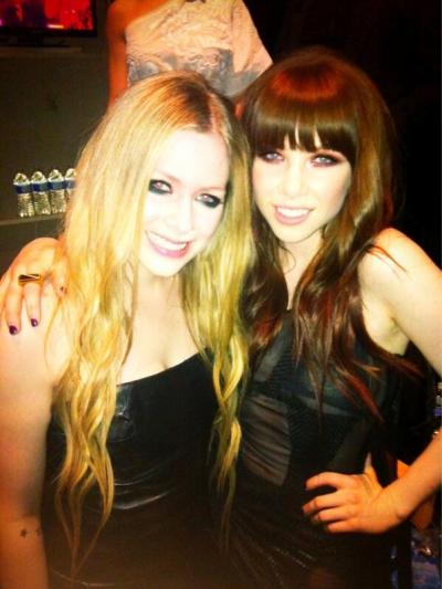 Avril Lavigne & Carly Rae Jepsen