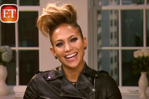 Jennifer Lopez on ET