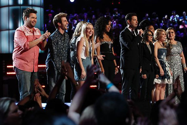 The Voice Season 4 Top 8