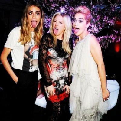 Cara Delevingne, Ellie Goulding, Rita Ora