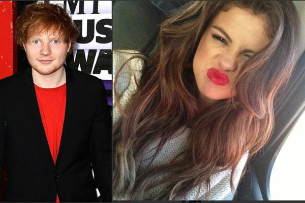 Ed Sheeran & Selena Gomez